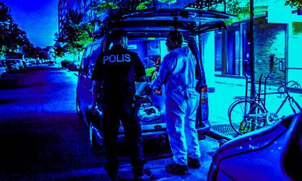 Misstänkt mord i Sollentuna