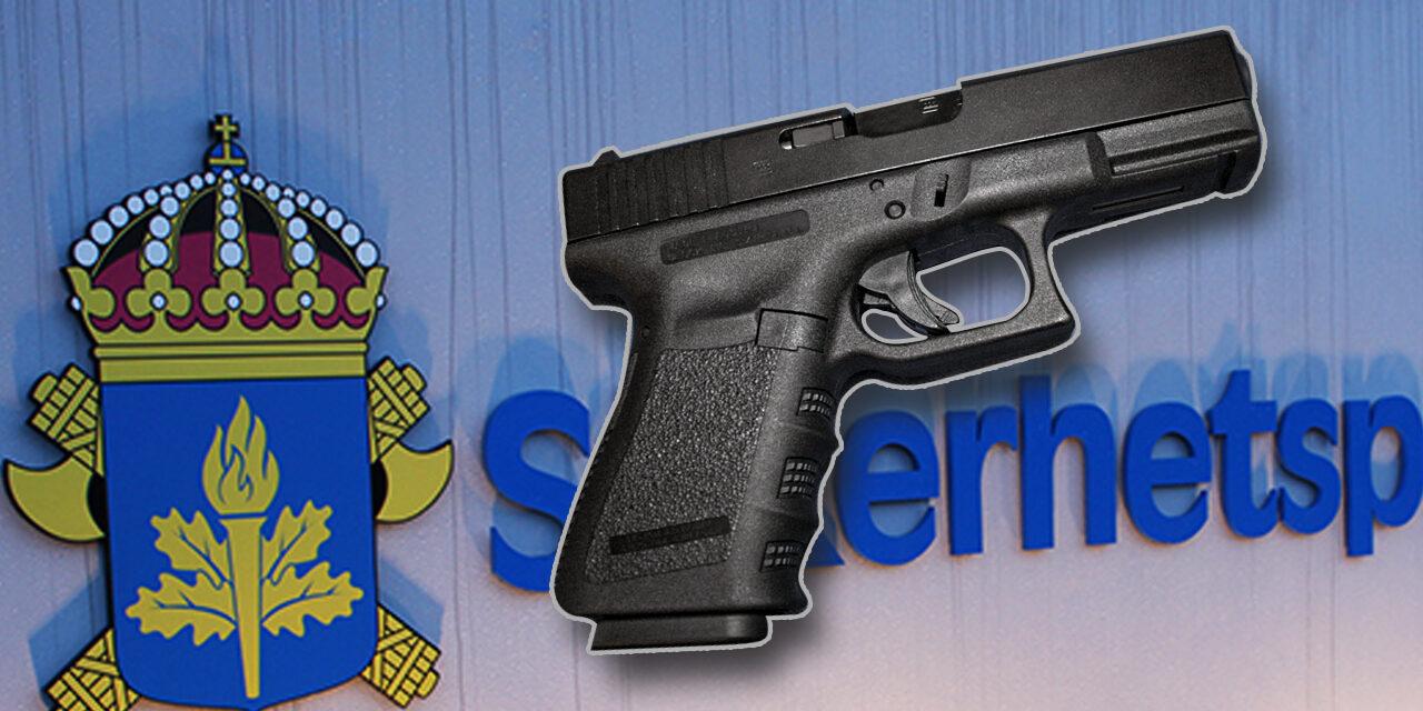 Säkerhetspolisens nya tjänstevapen Glock 19